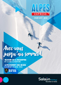 Ouvrir la brochure flash Alpes Express 2017-2018