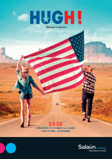 Ouvrir la brochure flash Hugh ! Welcome to America 2020
